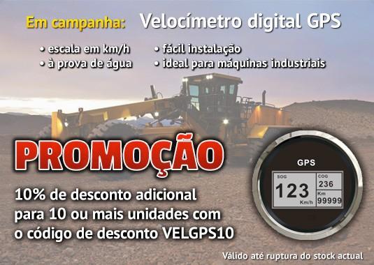 Promoção: Velocímetro Digital GPS